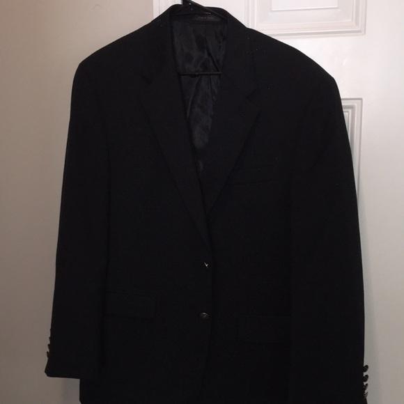 Lauren Ralph Lauren Black Blazer Jacket 42R Wool